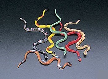 48 Vinyl Snakes Toys Party Favor - Funzalo Toys