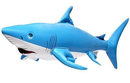 "24"" L Inflatable Shark Ocean Life Animal Zoo - Funzalo Toys"