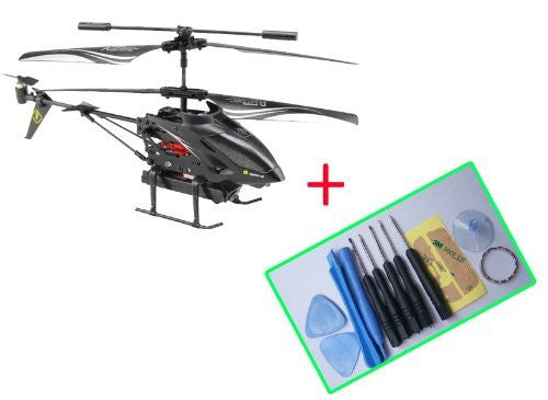 WLTOYS S977 3.5 Ch Metal Radio Control Gyro Rc Helicopter with Video Camera - Funzalo Toys