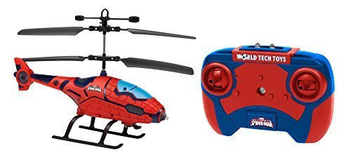 Marvel Spider Man Shaped 2 Ch IR Helicopter - Funzalo Toys