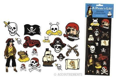 A Pirate's Life Sticker Collection - Funzalo Toys
