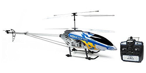 World Tech Toys Colossus R/C Helicopter (Colors May Vary) - Funzalo Toys
