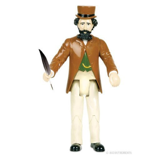 Accoutrements Charles Dickens Action Figure - Funzalo Toys