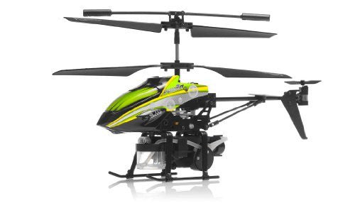 WL Toys V757 Bubble Master Co-Axial 3.5 Channel RC Helicopter (Green) - Funzalo Toys