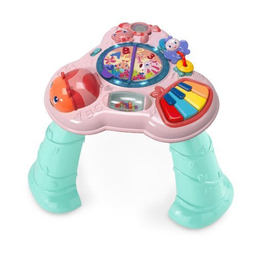 Bright Starts Pretty in Pink Musical Learning Table - Funzalo Toys