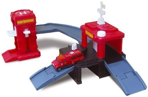 Dyna City Fire Station Playset - Funzalo Toys