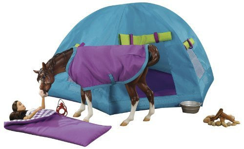 Breyer Backcountry Camping Set - Accessory for Breyer Tradtional Horse Toy Models - Funzalo Toys