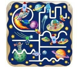 Anatex Outer Space Pathfinder Wall Panel - Funzalo Toys