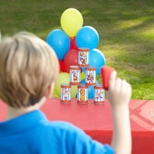 Carnival Can Toss Bean Bag Game - Funzalo Toys