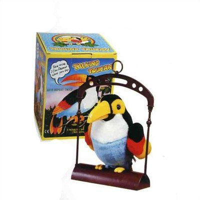 John N Hansen B/O Animated Talking Toucan - Funzalo Toys