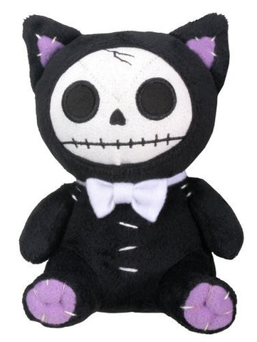 Black Mao-Mao Cat Furry Bones Small Soft Plush Doll - Funzalo Toys