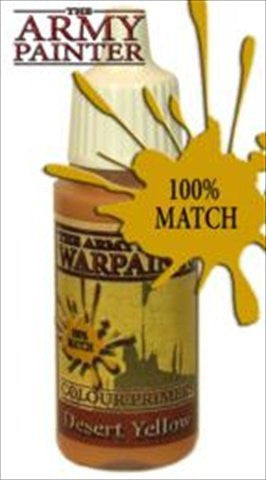 Army Painter WP1121 Warpaints - Desert Yellow, 18 ml - Funzalo Toys