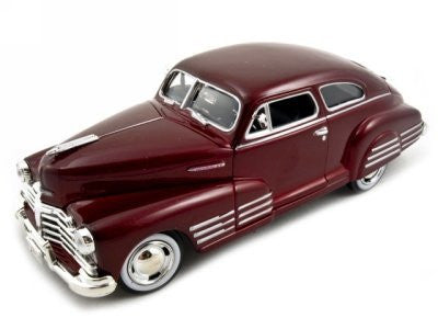1948 Chevy Aerosedan Fleetline Red 1:24 Diecast Car Model - Funzalo Toys
