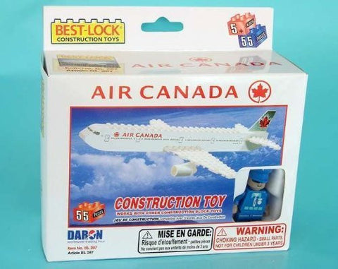 Daron Air Canada Construction Toy (55-Piece) - Funzalo Toys