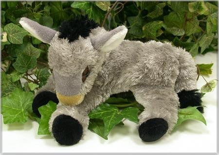 "Wishpets 9"" Lying Donkey Plush Toy - Funzalo Toys"
