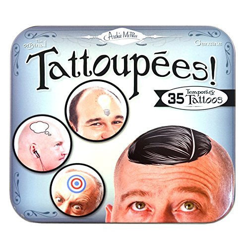 Accoutrements Tattoupees Stickers - Funzalo Toys