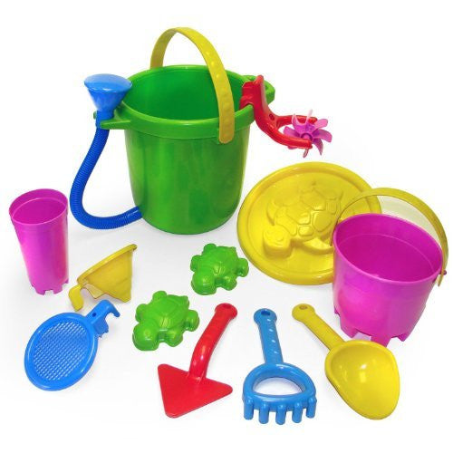 12 Piece Sand & Water Playset - Funzalo Toys