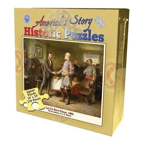 America's Story Let Us Have Peace, 1865 Jigsaw puzzle 550 pieces - Funzalo Toys