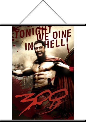 300 King Leonidas Wall Scroll - Funzalo Toys