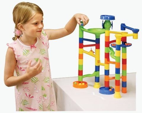 55-Piece Marble Run - Funzalo Toys