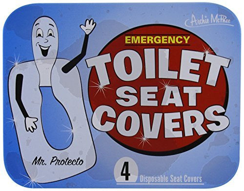 Accoutrements Emergency Toilet Seat Covers - Funzalo Toys