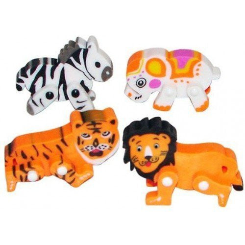 Movable Animal Erasers (1 dz) - Funzalo Toys