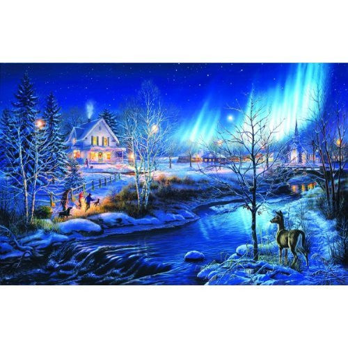 All is Bright a 1000-Piece Jigsaw Puzzle by Sunsout Inc. - Funzalo Toys