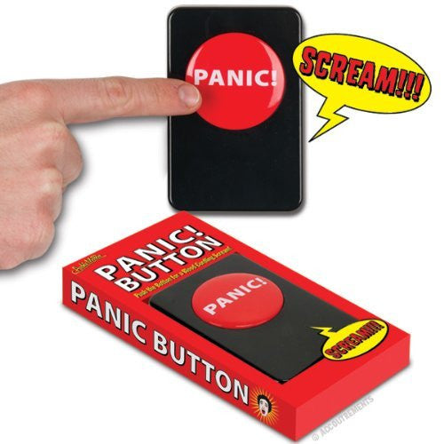 Accoutrements Panic Button - Funzalo Toys