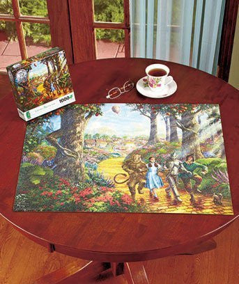 1,000-pc. Thomas Kinkade Wizard or Oz Puzzle - Funzalo Toys