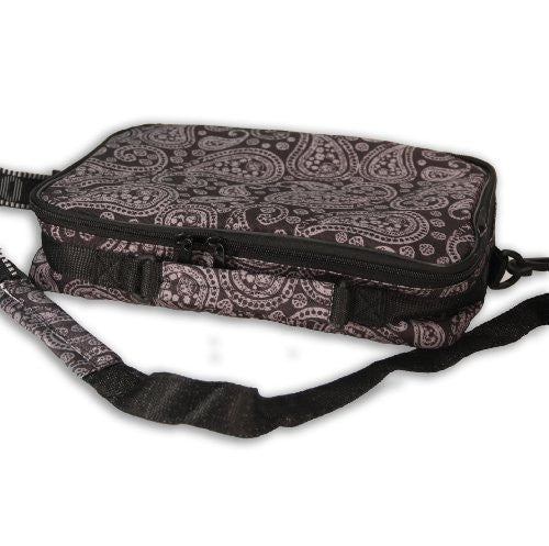 Zeekio Designer Motif Yo-Yo Bag- Grey and Black Yo-Yo Case - Funzalo Toys