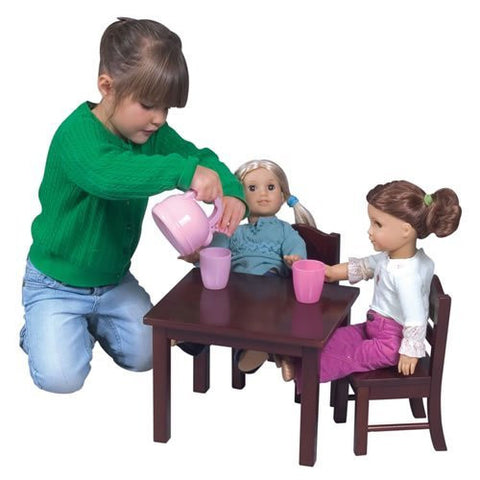 Precious Doll Table and Chair Set - Funzalo Toys