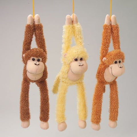 14 long Single Plush Monkey - Funzalo Toys