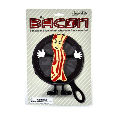 Accoutrements Mr.Bacon Bendable Action Figure - Funzalo Toys