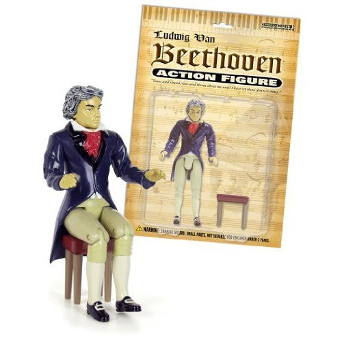 Accoutrements Beethoven Action Figure - Funzalo Toys