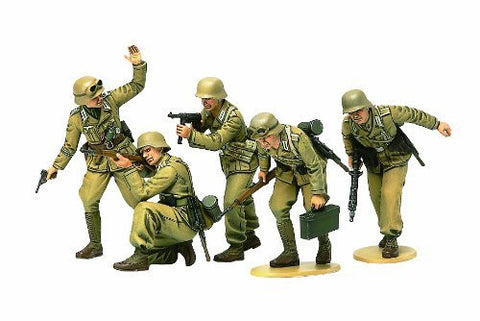 1/35 German Africa Corps Infantry (5 Figures) - Funzalo Toys