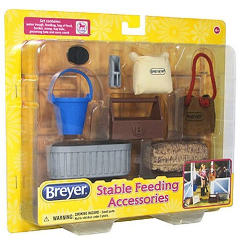 BREYER Classics Stable Feeding Accessories Toy - Funzalo Toys