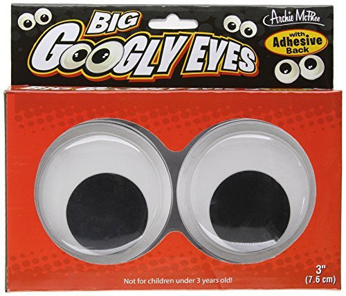 Accoutrements Big Googly Eyes - Funzalo Toys
