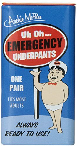 Accoutrements Emergency Underpants - Funzalo Toys