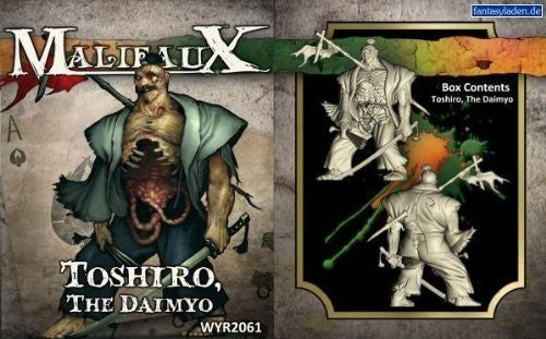 Malifaux: Resurrectionists/Ten Thunders - Toshiro, The Daimyo - Funzalo Toys