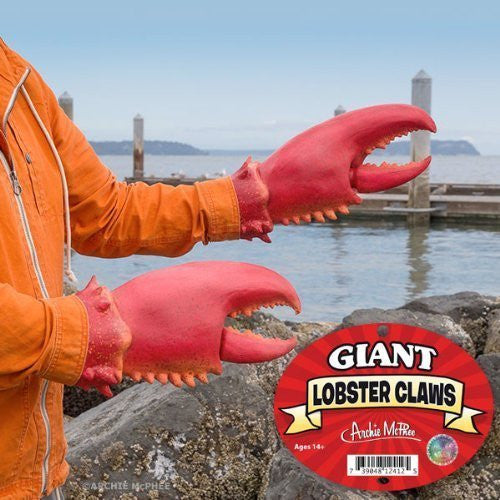 Accoutrements Giant Lobster Claws - Funzalo Toys