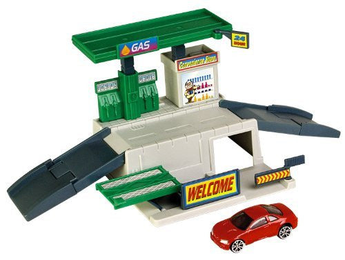 MotorMax Dyna City Playset - Gas Station - Funzalo Toys