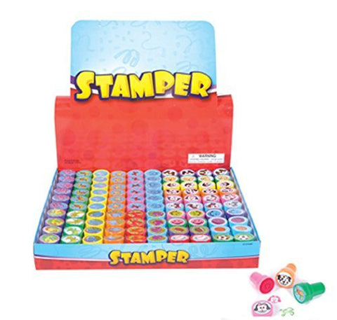 100 pc bulk wholesale lot - assorted stampers - Funzalo Toys