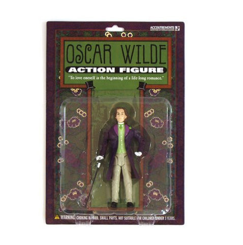 Accoutrements Oscar Wilde Action Figure - Funzalo Toys