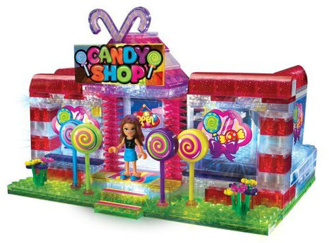 Cra-z-art Lite Brix Lite up Candy Shop - Funzalo Toys