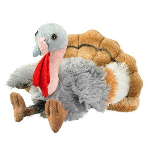 "Turkey Stuffed Animal Plush Toy 8"" - Funzalo Toys"