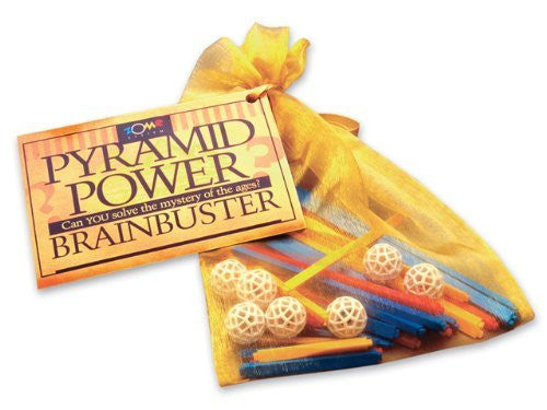 Pyramid Power Brainbuster Puzzle - Funzalo Toys