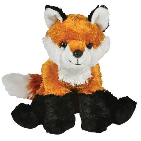 "10"" Red Fox Plush Stuffed Animal Toy - Funzalo Toys"