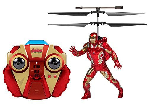 Avengers: Age Of Ultron Iron Man 2-channel IR RC Helicopter - Funzalo Toys