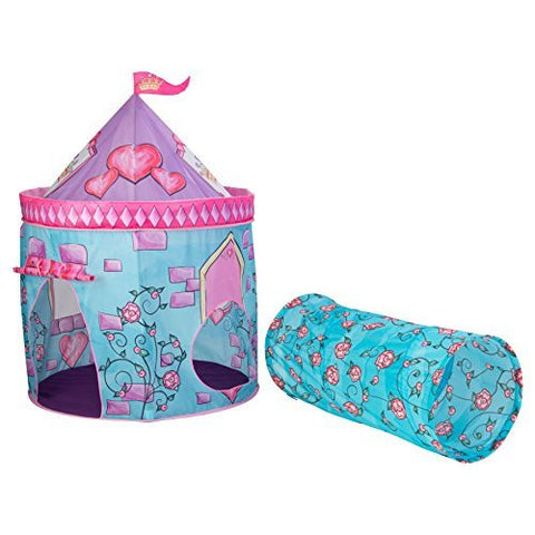Castle Tent with Tunnel - Funzalo Toys
