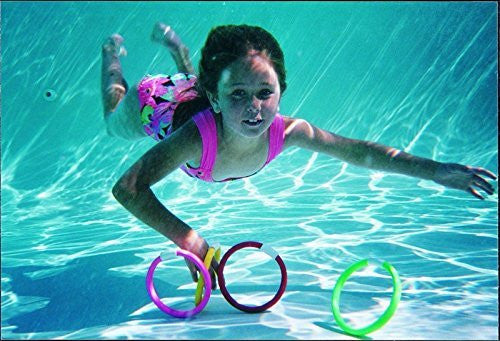 Water Gear Dive Rings (4 pcs) - Funzalo Toys